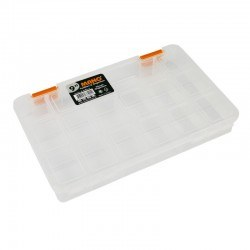 Mano - Mano Transparent Storage Box 9'' Classic Organizer