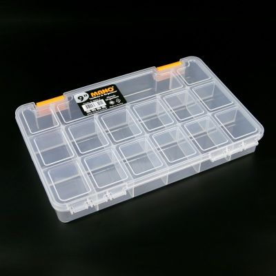 Mano Transparent Storage Box 9'' Classic Organizer
