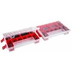Mano - Mano Twin Organizer Kırmızı 11 Inch Malzeme Çantası - T-ORG-11