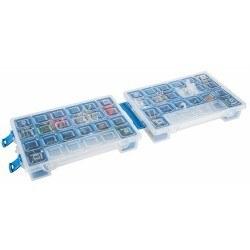 Mano - Mano Twin Organizer Mavi 11 Inch Malzeme Çantası - T-ORG-11