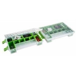 Mano - Mano Twin Organizer Yeşil 11 Inch Malzeme Çantası - T-ORG-11
