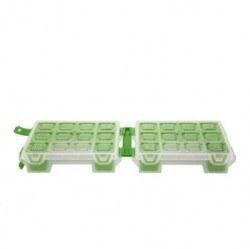 Mano Twin Organizer Yeşil 7 Inch Malzeme Çantası - T-ORG-7 - Thumbnail