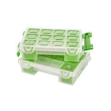 Mano Twin Organizer Yeşil 7 Inch Malzeme Çantası - T-ORG-7