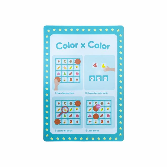 Matatalab Code x Color Activity Pack (Competible with Coding Kit)
