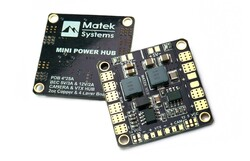 China - Matek Mini Power Distribution Board - 5/12 V BEC