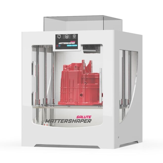 Mattershaper Salute Çift Ekstruder 3D Yazıcı