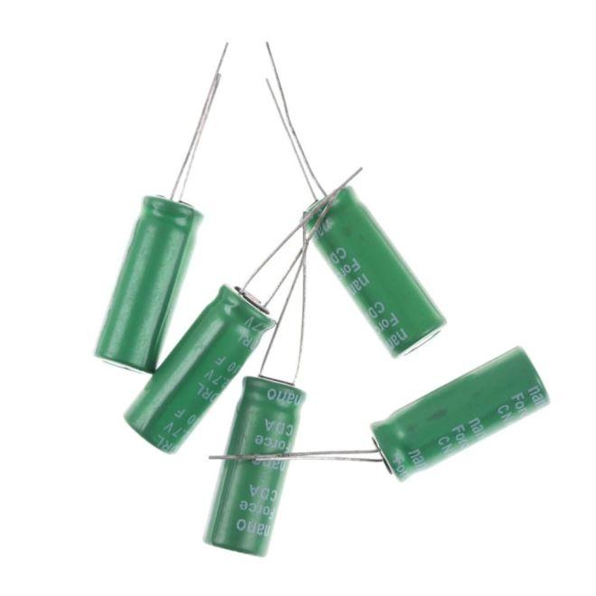 2.7 V 10 F Süper Kapasitör