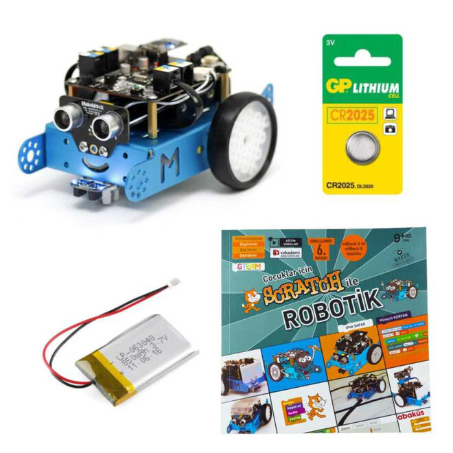 mBot Set With Turkish Book (Bluetooth)