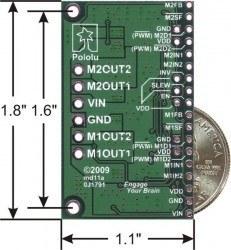 MC33926 Çift Motor Sürücü Kartı - PL-1213 - Thumbnail