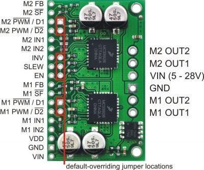 MC33926 Çift Motor Sürücü Kartı - PL-1213