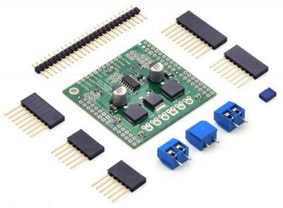 MC33926 Dual Motor Driver Card Compatible with Arduino
