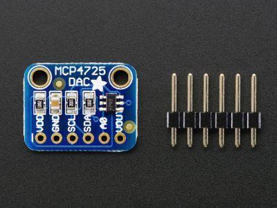 MCP4725 12-bit Tek Kanal DAC