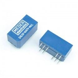 MEDER - Meder 12V 10 Pin Relay - DIL12-4A71-40L
