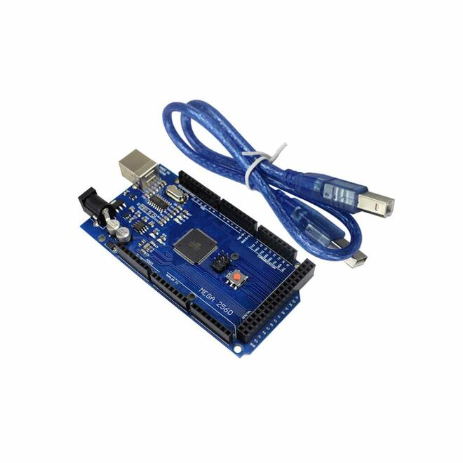 Mega 2560 R3 Clone for Arduino - With USB Cable - (USB Chip CH340)