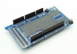 Robotistan - Mega 2560 R3 Proto Shield Kit with Mini Breadboard for Arduino