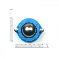Metal Ball Caster - Blue - Thumbnail