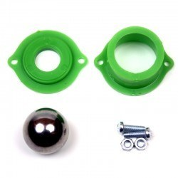 Robotistan - Metal Ball Caster - Green