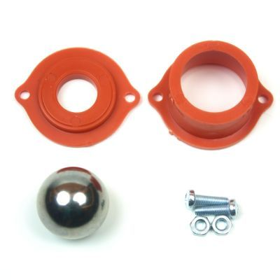 Metal Ball Caster - Orange