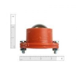 Metal Ball Caster - Orange - Thumbnail