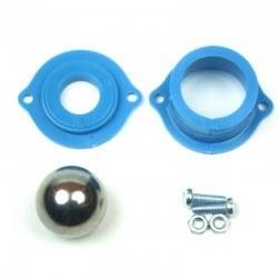 Robotistan - Metal Bilyeli Sarhoş Teker - Mavi