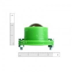Metal Bilyeli Sarhoş Teker - Yeşil - Thumbnail