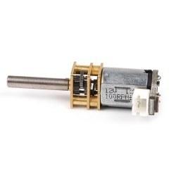 Metal Micro Gearmotor 100Rpm - N20 DC 12V - Thumbnail