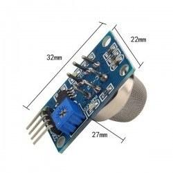 Methane (CNG) Gas Sensor Board - MQ-4 - Thumbnail