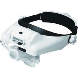 China - MG 820 Led Head Magnifier (1.0x - 3.5x, 5 Level)