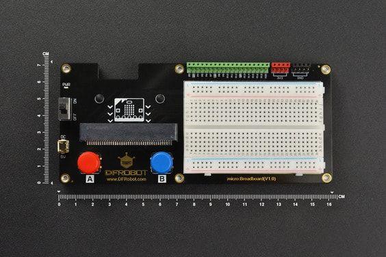 micro: Breadboard (micro:bit için)