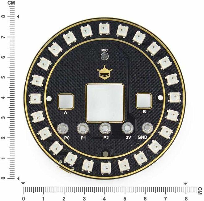 micro: Circular RGB LED Expansion Board