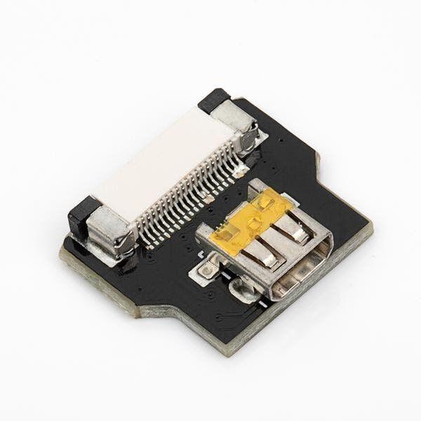 Micro HDMI Soket (DIY HDMI Kablo ile Birlikte Kullanılabilir)