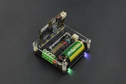 micro: IO-BOX Expansion Board with On-board Li-ion Battery Power - Thumbnail