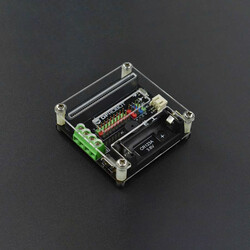 DFROBOT - micro: IO-BOX Pin Genişletme Kartı (Dahili Li-ion Pil Yuvalı)