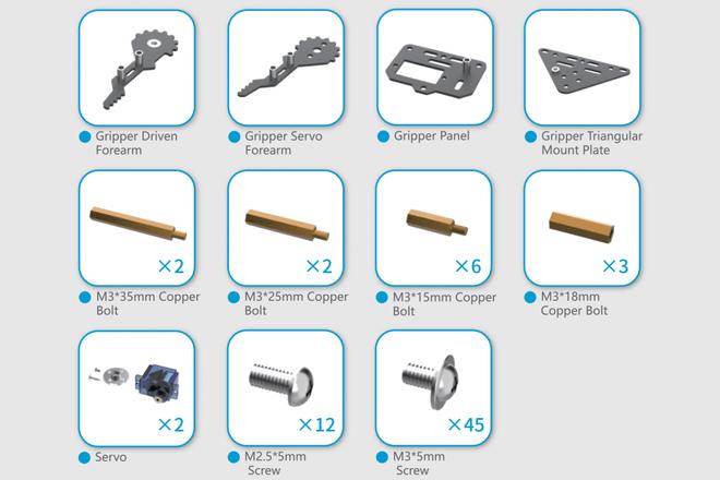 micro: Maqueen Mekanik Set