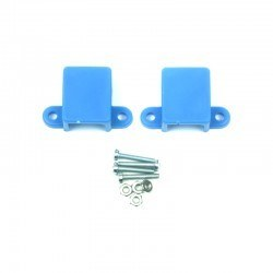 Robotistan - Micro Metal Gearmotor Bracket - Blue