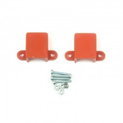 Robotistan - Micro Metal Gearmotor Bracket - Orange