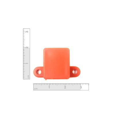 Micro Metal Gearmotor Bracket - Orange
