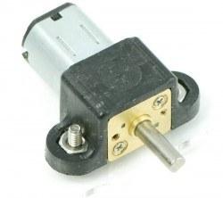Plastik Mikro Metal Motor Tutucu - Siyah - PL-989 - Thumbnail