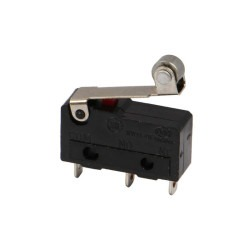 Robotistan - Micro Switch with Pulley 5A 250V (JL024-2-026)