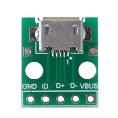 Micro USB Type-B (Female) to DIP Converter