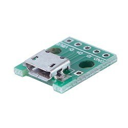 China - Micro USB Type-B (Female) to DIP Converter