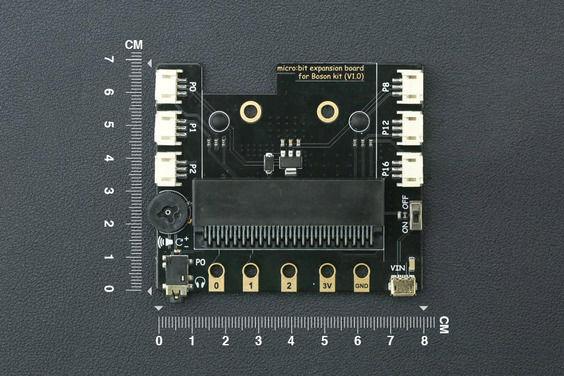 Micro:Bit Boson Kit için Eklenti Kartı (Gravity Modül Uyumlu)