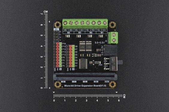 Micro:bit Motor Sürücü Kartı