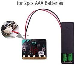 micro:bit On-Off Anahtarlı Pil Yatağı (2x AAA Pil) - Pil Yuvası - Thumbnail
