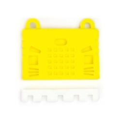 micro:bit Sarı Silikon Koruma Kılıfı - Thumbnail