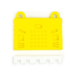 micro:bit Silicone Protective Cover - Yellow - Thumbnail