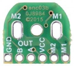 Mikro Metal Motorlar İçin 12 CPR Manyetik Enkoder - PL-3081 - Thumbnail