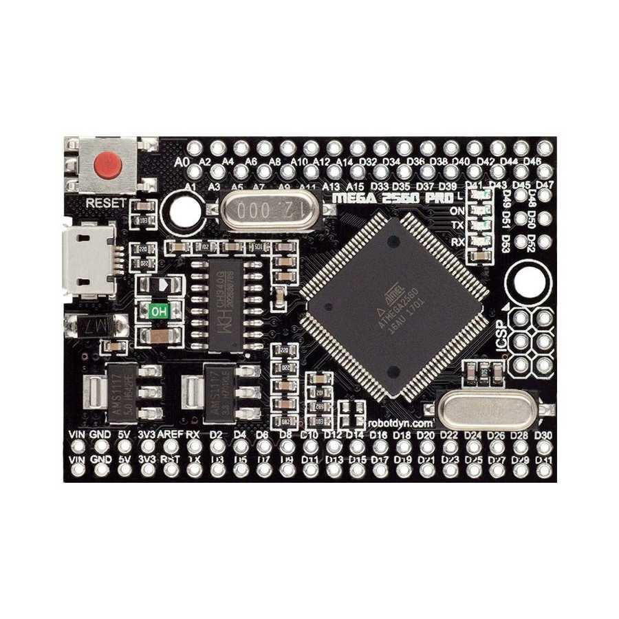 Arduino: Mini Arduino Mega 2560 Pro (CH340) Satın Al