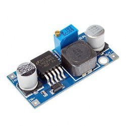 Robotistan - Mini Ayarlanabilir 3 A Voltaj Regülatör Kartı - LM2596-ADJ