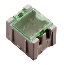 Mini Boy Komponent Saklama Kutusu - Beyaz - Thumbnail